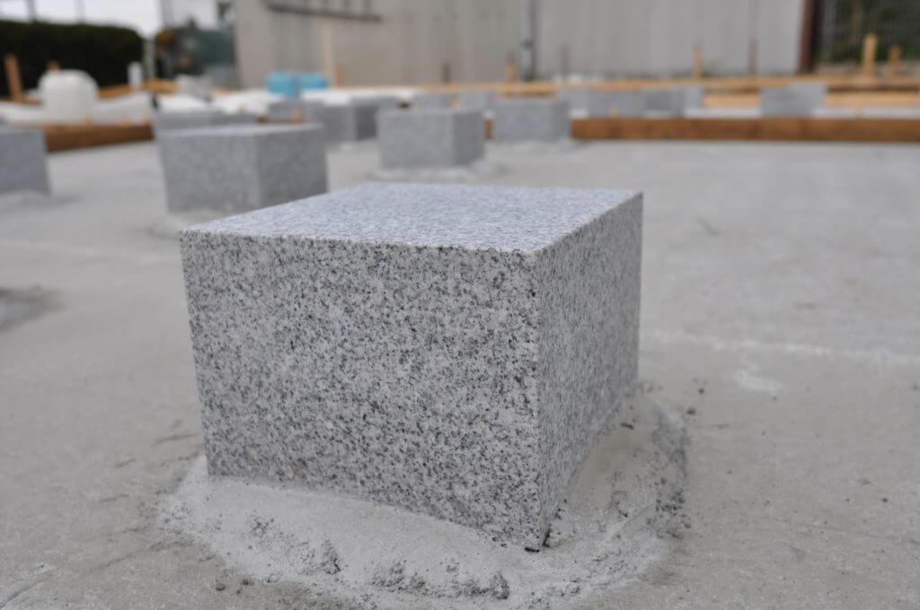 愛知の石場建て5 石場基礎