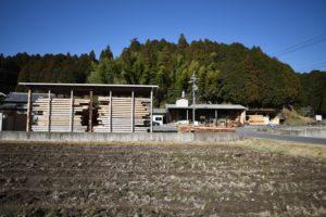 愛知の石場建て4 天然乾燥材