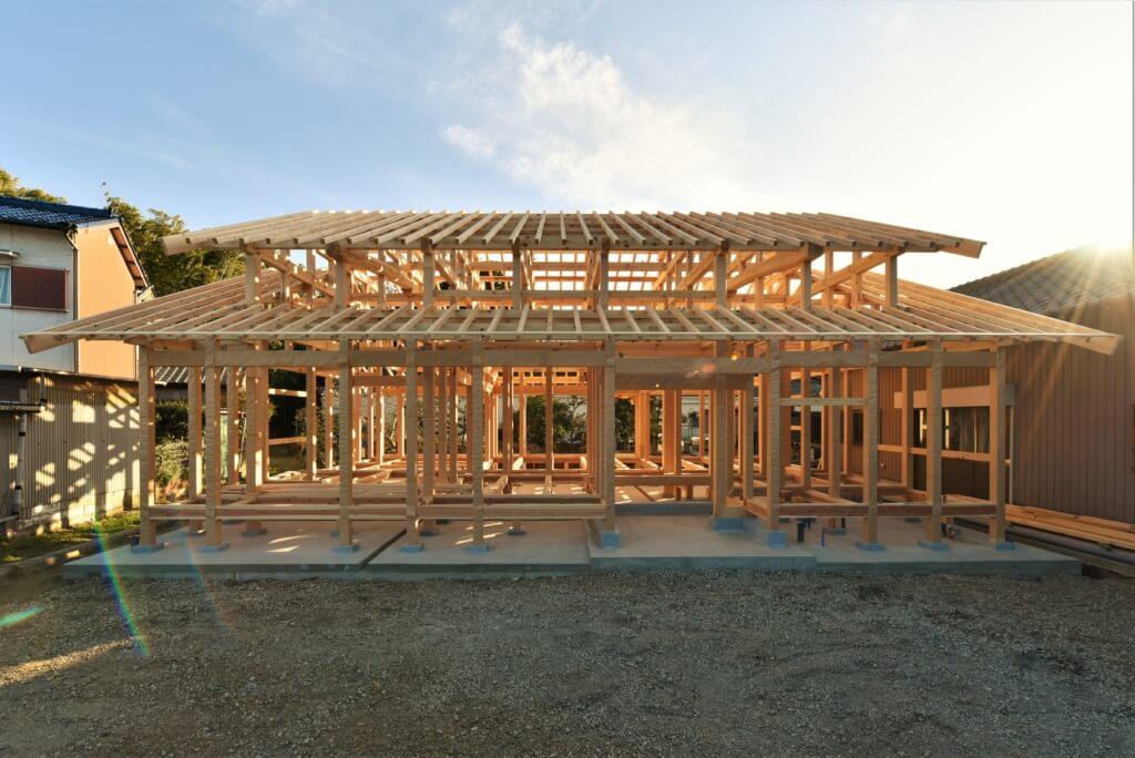 愛知の石場建て7 構造見学会
