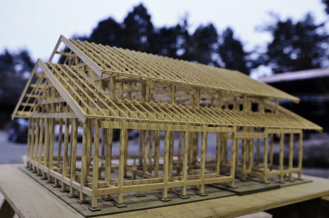 愛知の石場建て2 伝統工法