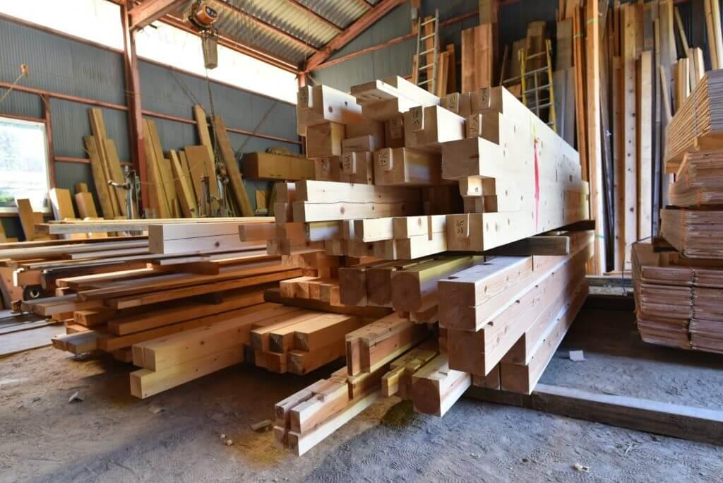 愛知の木組み