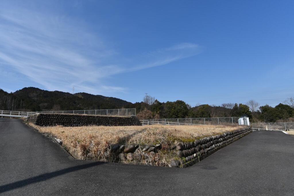 岐阜の石場建て1 敷地