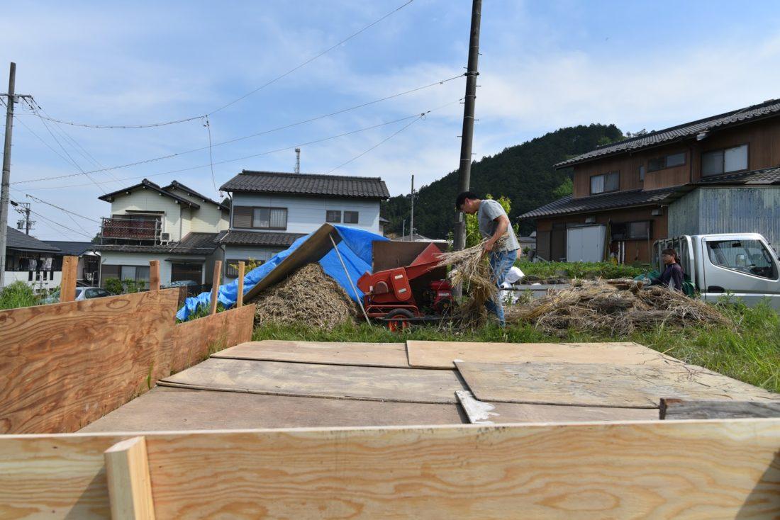 岐阜の石場建て