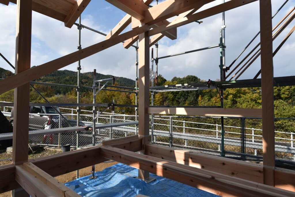 岐阜の石場建て7 構造見学会