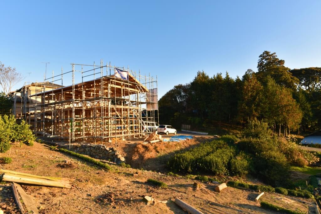 静岡の石場建て1