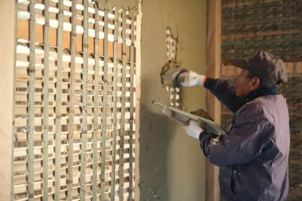 岐阜の石場建て10 土壁