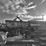 愛知の土壁2 地下掘削