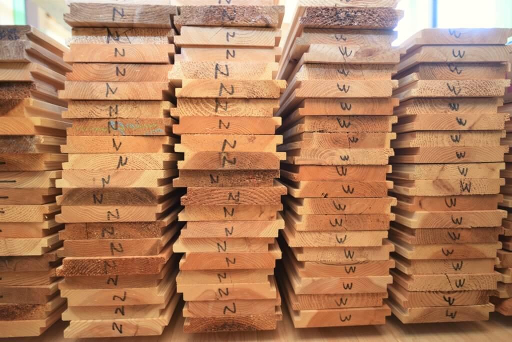 岐阜の石場建て 造作