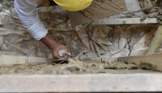 一宮の石場建て10 荒壁塗り