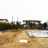 静岡の石場建て5 礎石