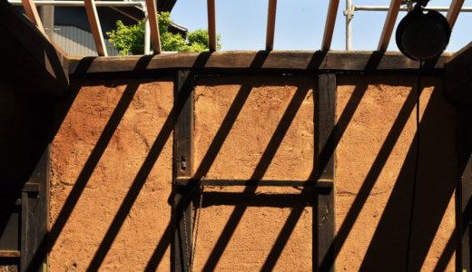愛知の茅葺き再生5 構造見学会