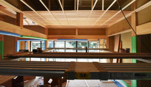 静岡の石場建て10 竿縁天井