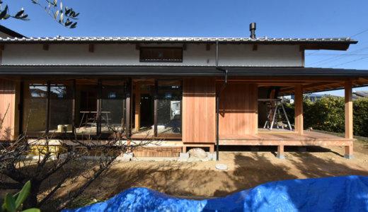 静岡の石場建て11 外壁