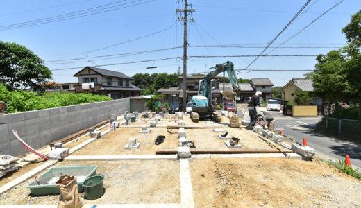 名古屋の石場建て6 三和土と礎石
