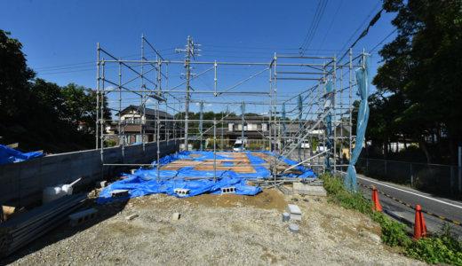 名古屋の石場建て7 建て方見学会