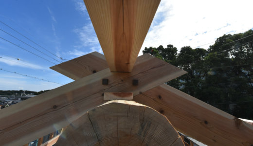 名古屋の石場建て8 構造見学会