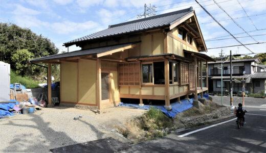 名古屋の石場建て9 完成見学会のご案内