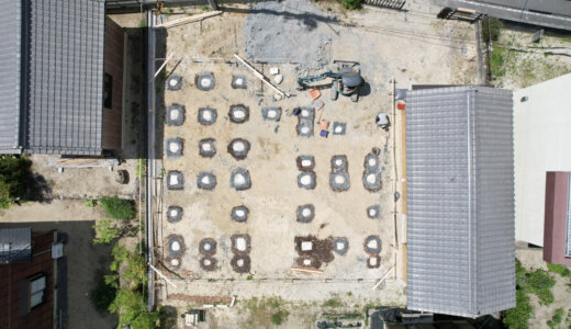 豊田の石場建て6 7月31日・8月1日 構造見学会と竹小舞ワークショップのご案内